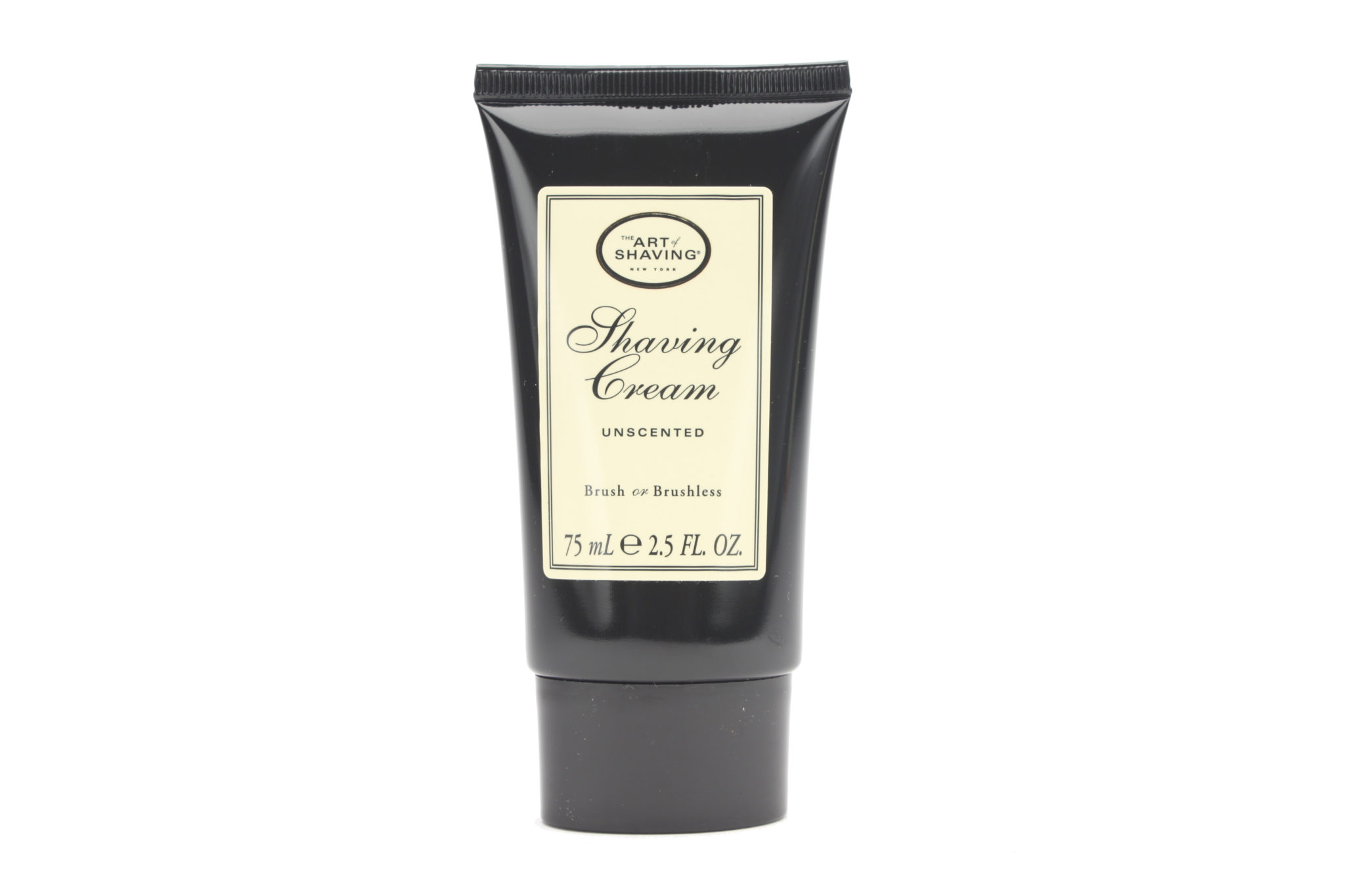 37029 Unscented Shaving Cream 2.5 oz Front