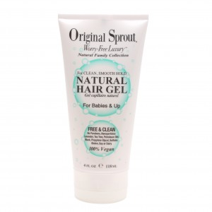63028 Natural Hair Gel 4 oz Front