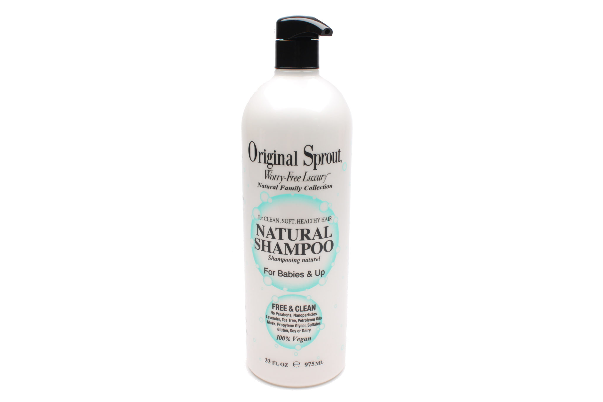 64122 Natural Shampoo for Babies & Up 33 oz