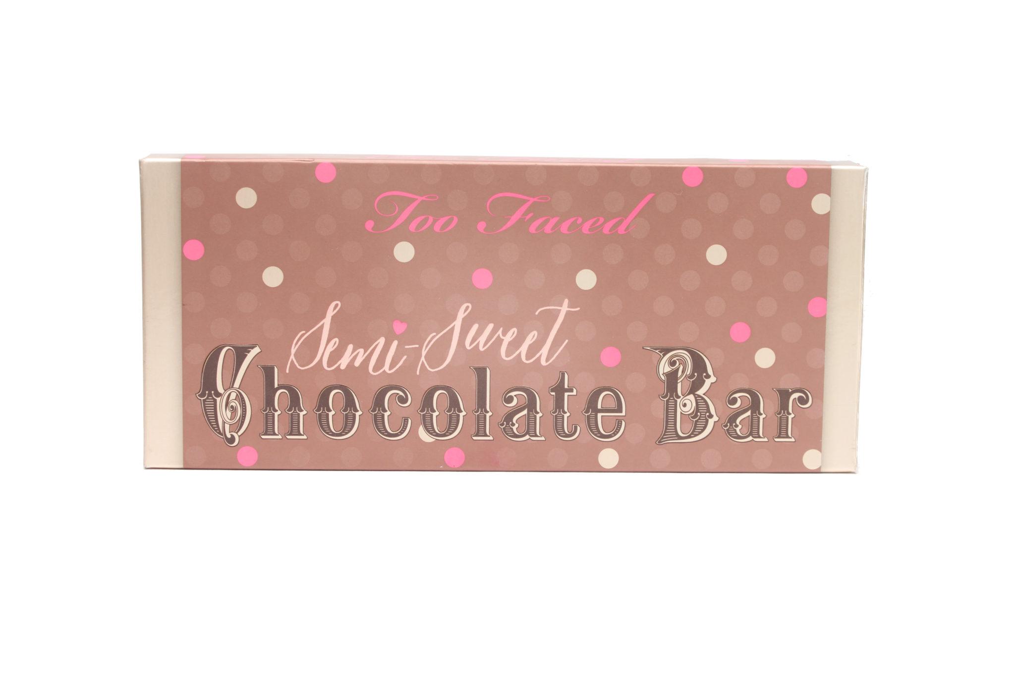 66238 Semi-Sweet Chocolate Bar 0.14 oz Front